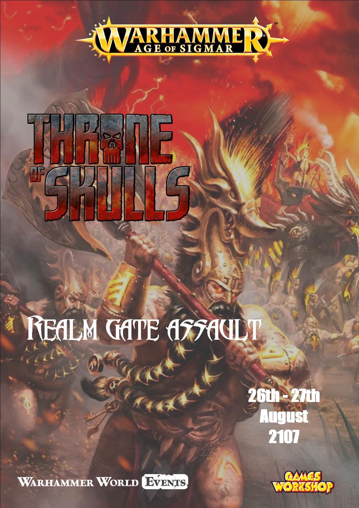 Warhammer Age of Sigmar Throne of Skulls: Rea