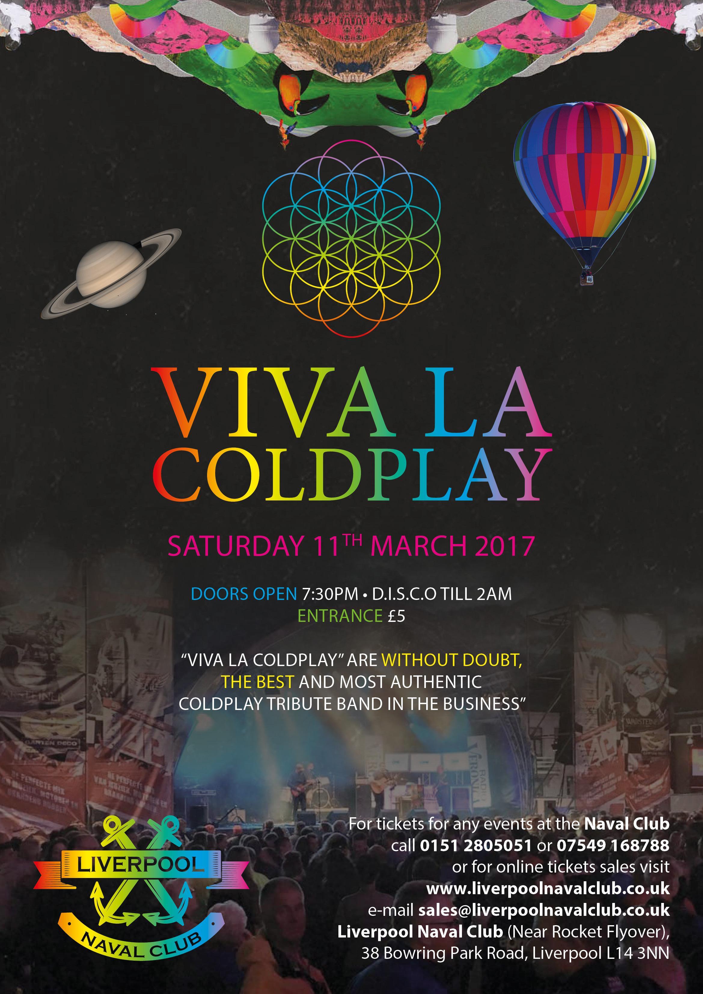 Viva La Coldplay (Brilliant Coldplay tribute