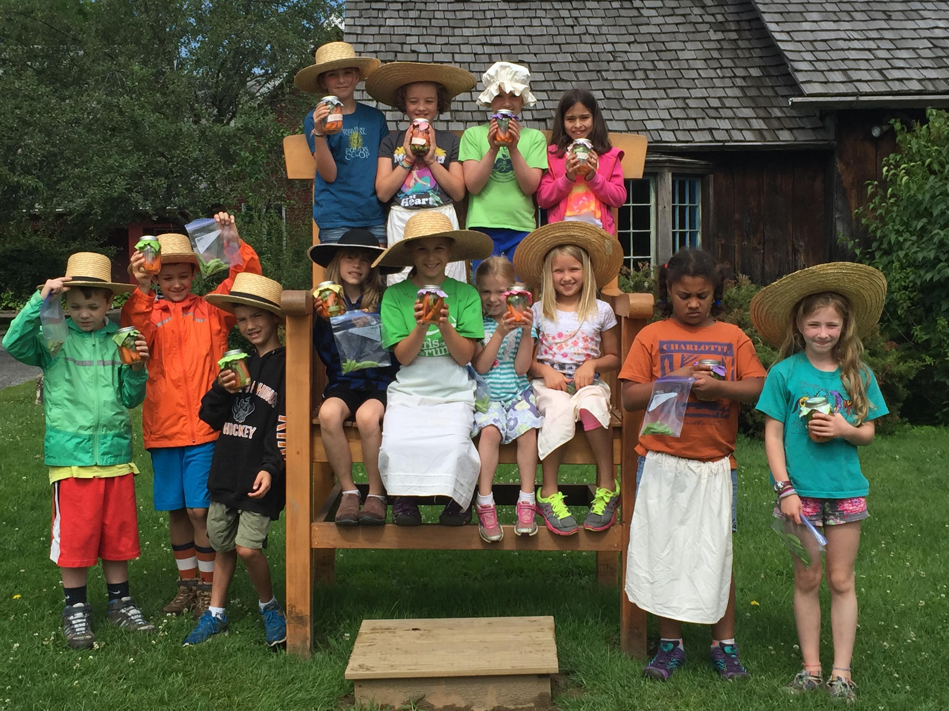 Summer Camp: A Week in 1795