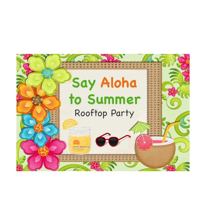 Say Aloha to Summer - Rooftop Party!