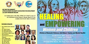 Healing and Empowering Women and Children ( A UN CSW61...