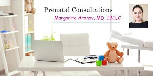 Prenatal Consultation - Meet Dr. Margarita Aronov,MD,IBCLC,Pediatrician