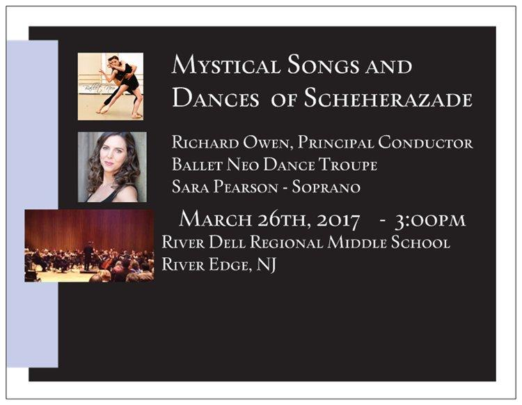 Adelphi Orchestra -  Mystical Songs and Dance