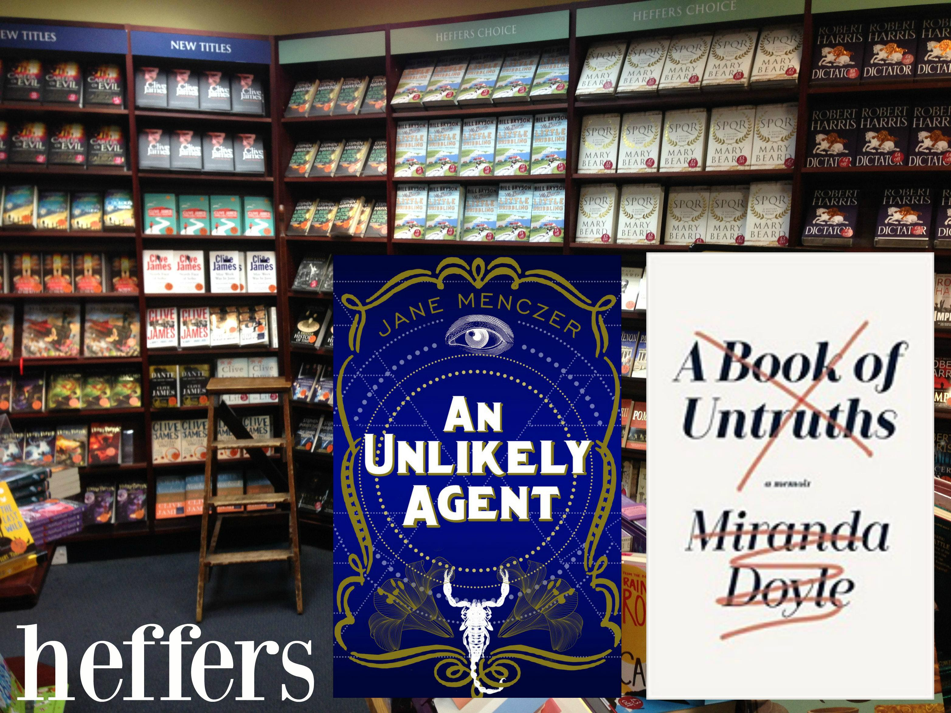 Double launch: 'An Unlikely Agent' and 'A Boo