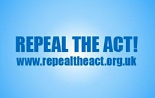 Repeal the Act! logo