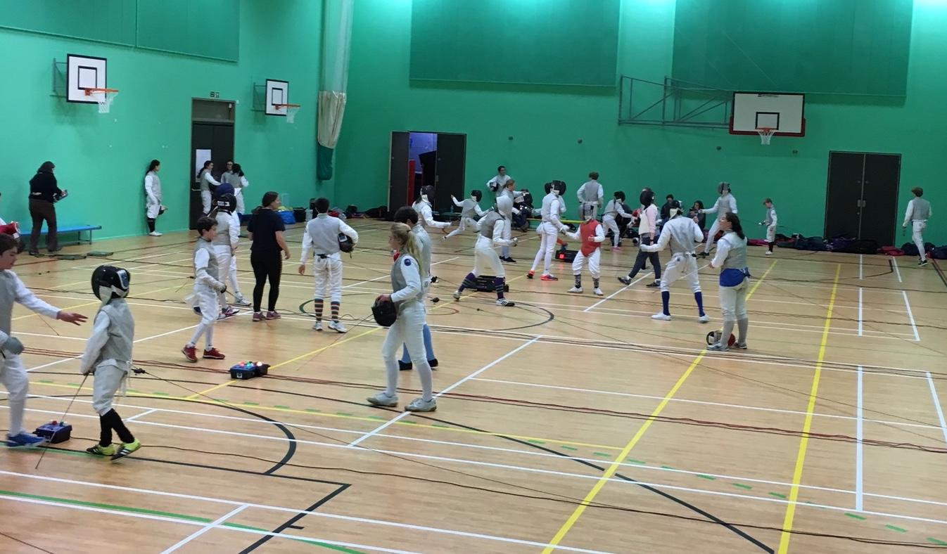 Cambridge Sword Summer Training 14th to 17th
