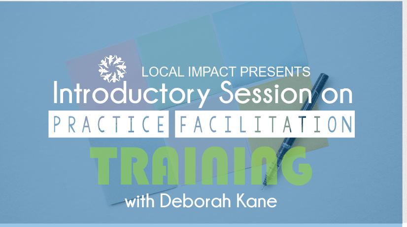 Practice Facilitation 101 Training