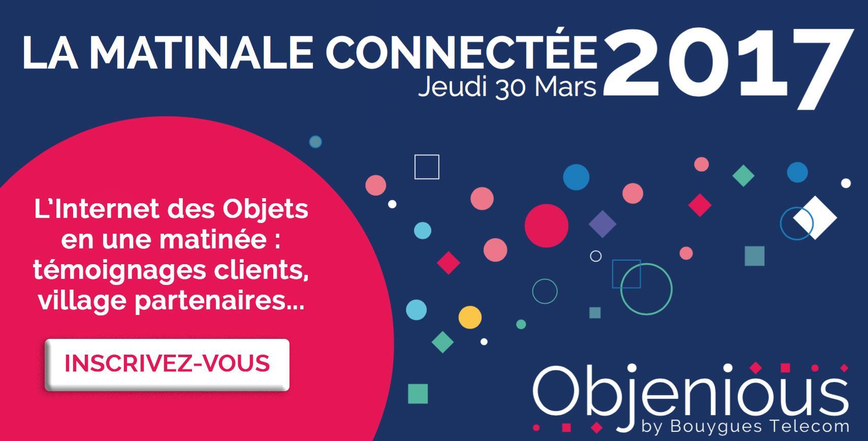Matinale Connectée Objenious by Bouygues Tele