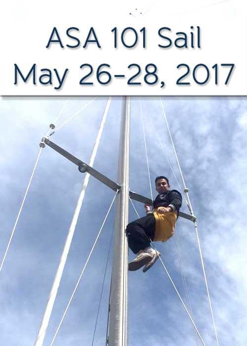 Sail Buffalo's 2017 ASA 101 Sail Class: May 2