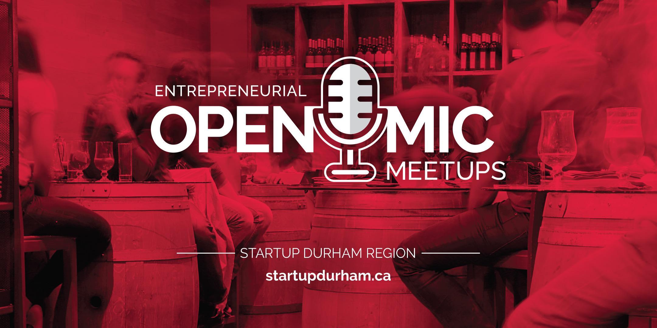 StartUp Durham - Open Mic Night Meet Up
