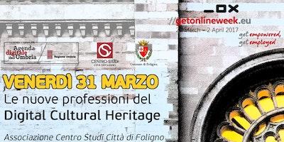 Le nuove professioni del Digital Cultural Heritage