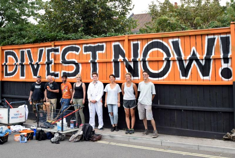 Divestment and Positive Investment / The Snug