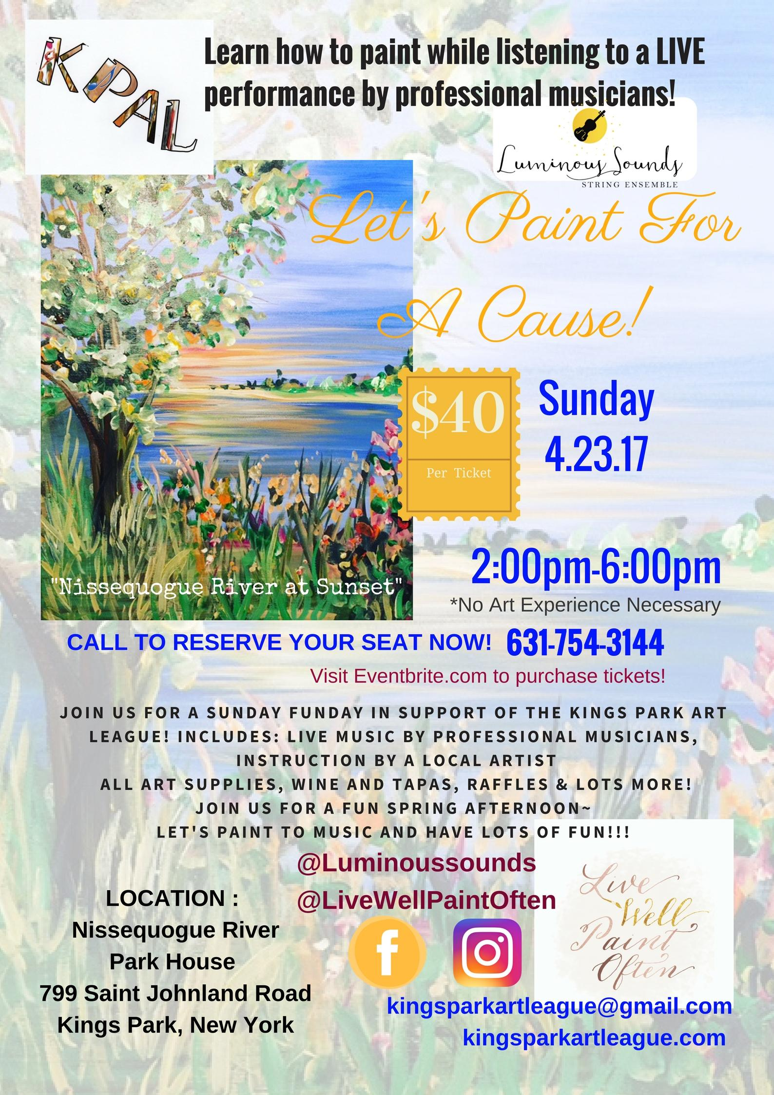 Let's Paint For A Cause!
