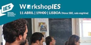 """WorkshopIES – """"Aspetos jurídicos da Inovação Social"""""""