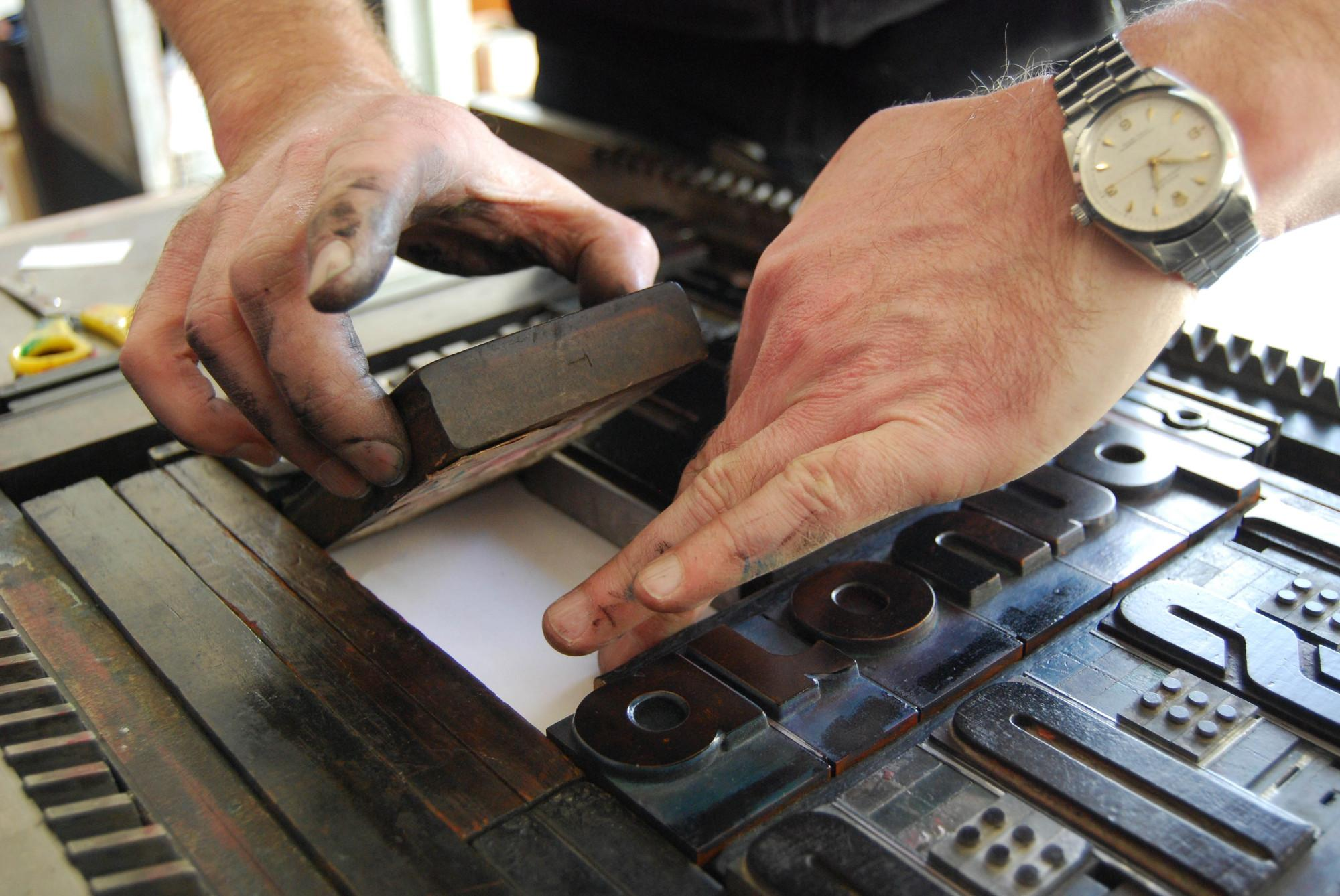 Introduction to Letterpress Printing (Weekend