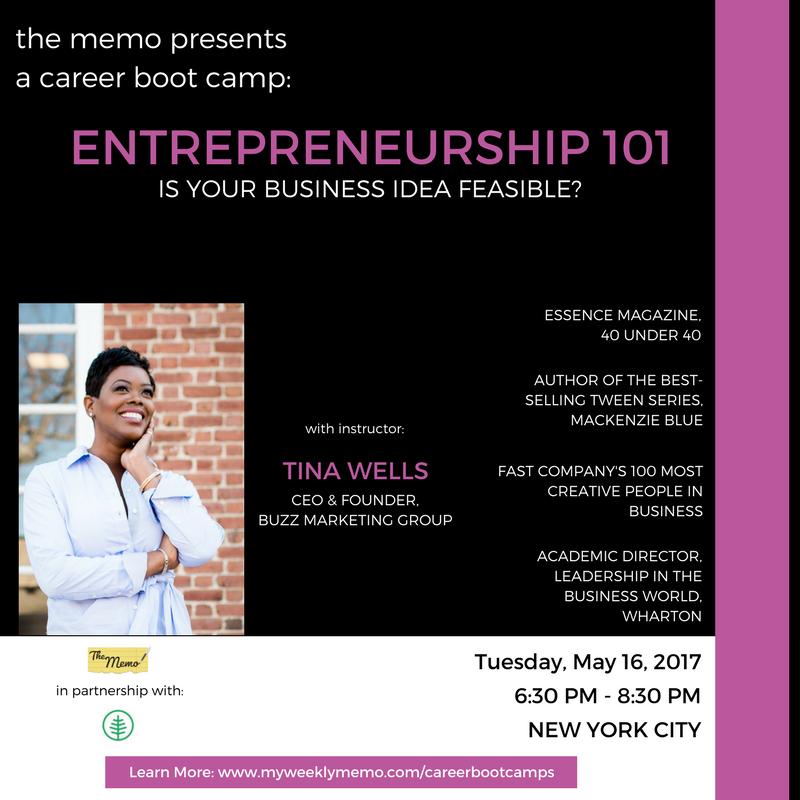The Memo Presents Career Boot Camp: Entrepren