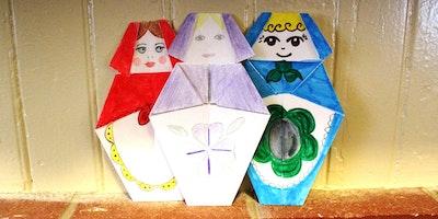 Creative Family Fun - Russian Paper Pals