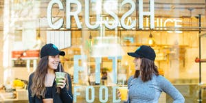 CRUSSH JUICE BARS - FITNESS AND FOOD TASTING - THIS...