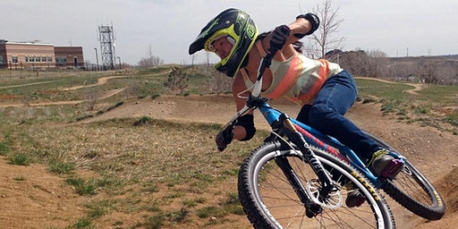 Women-only Level 1 MTB skills at Valmont Bike Park, Boulder CO