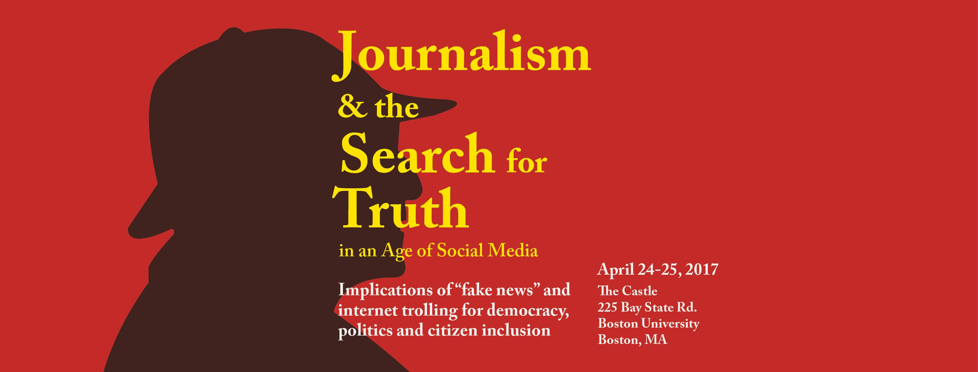 Journalism and the Search for Truth in an Age