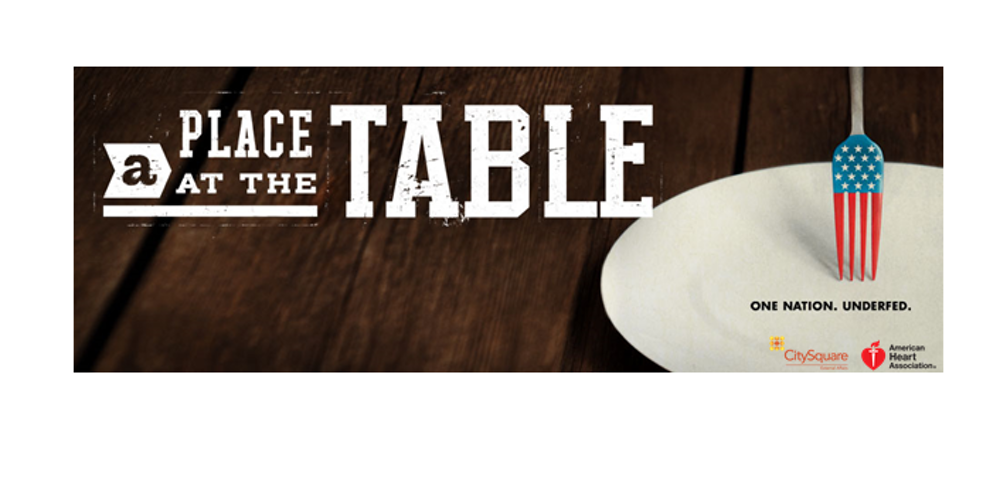 a place at the table Enter your location to see which movie theaters are playing a place at the table near you guarantee the perfect movie night with tickets from fandango.