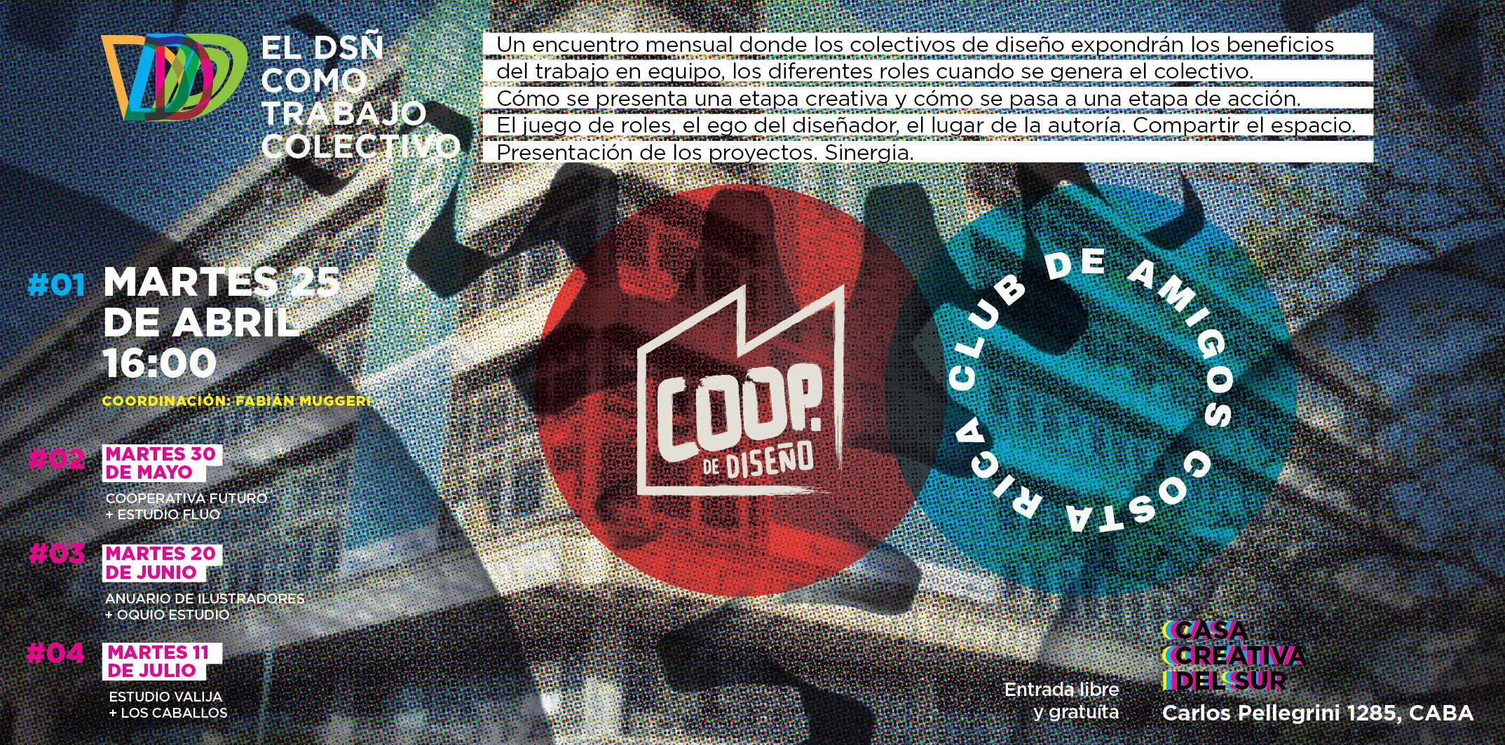 """Ciclo """"El diseño como trabajo colectivo"""""""