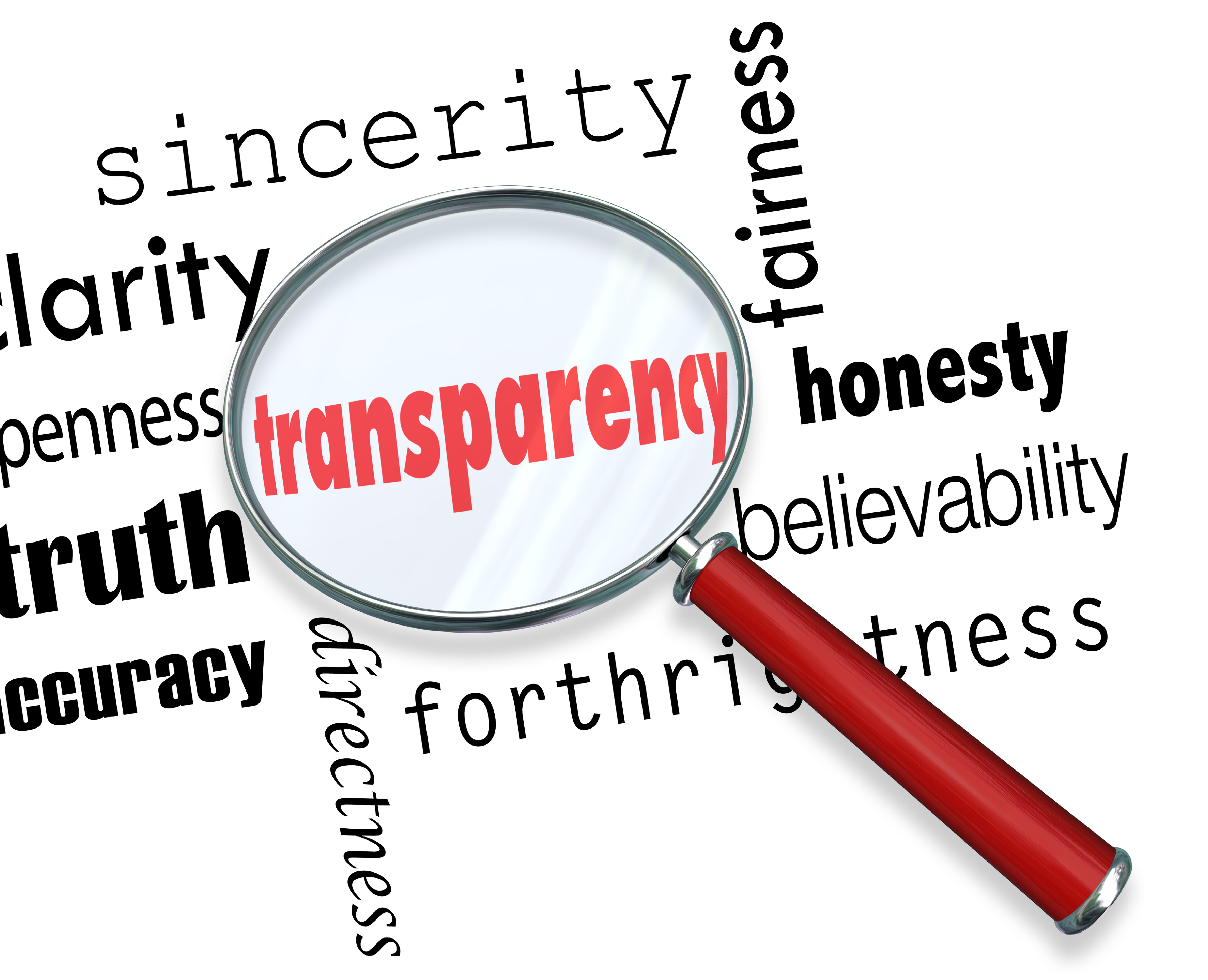 Transparency Symposium (scroll down for the d