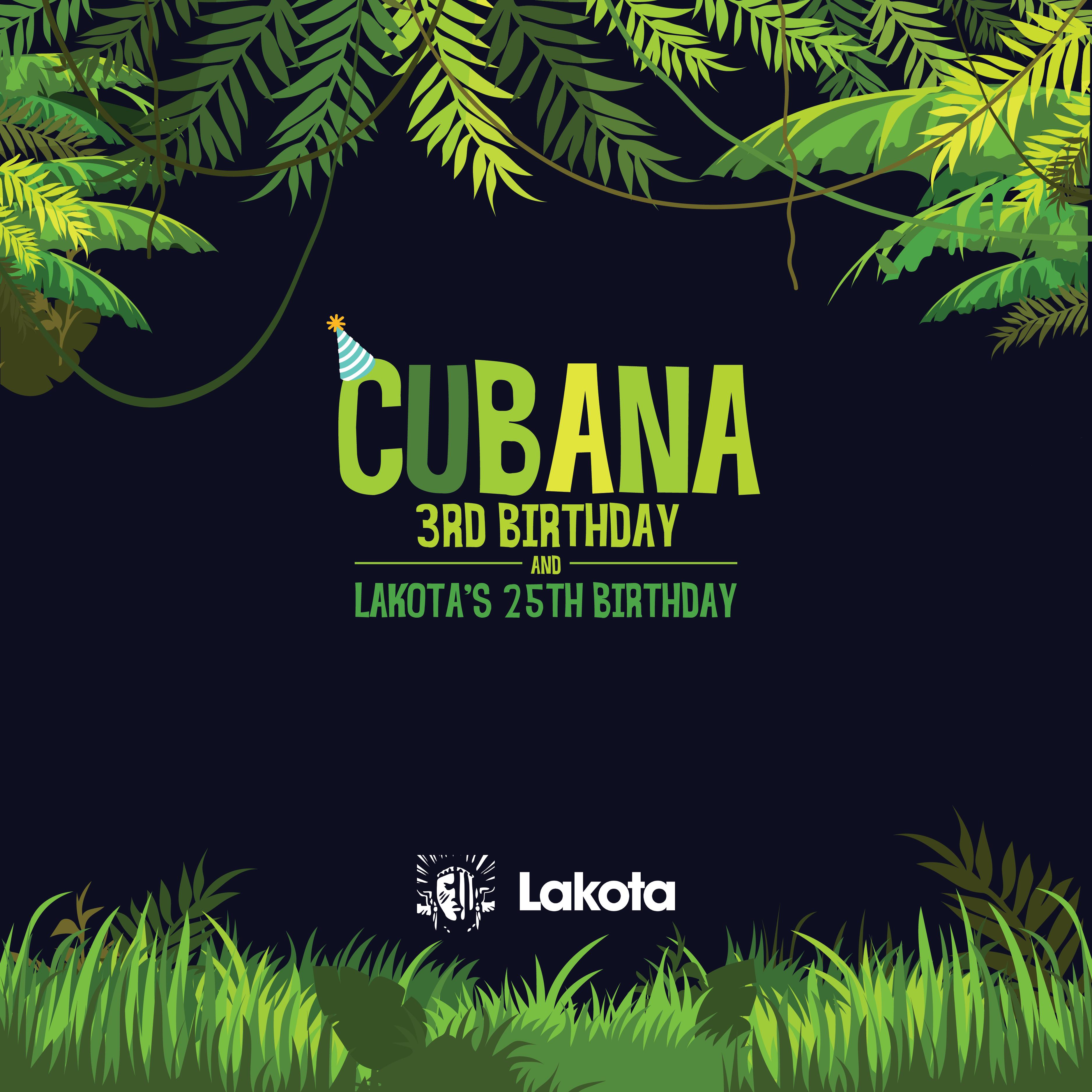 Cubana 3rd Birthday