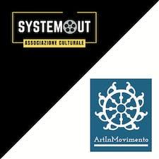 ARTINMOVIMENTO + SYSTEMOUT logo