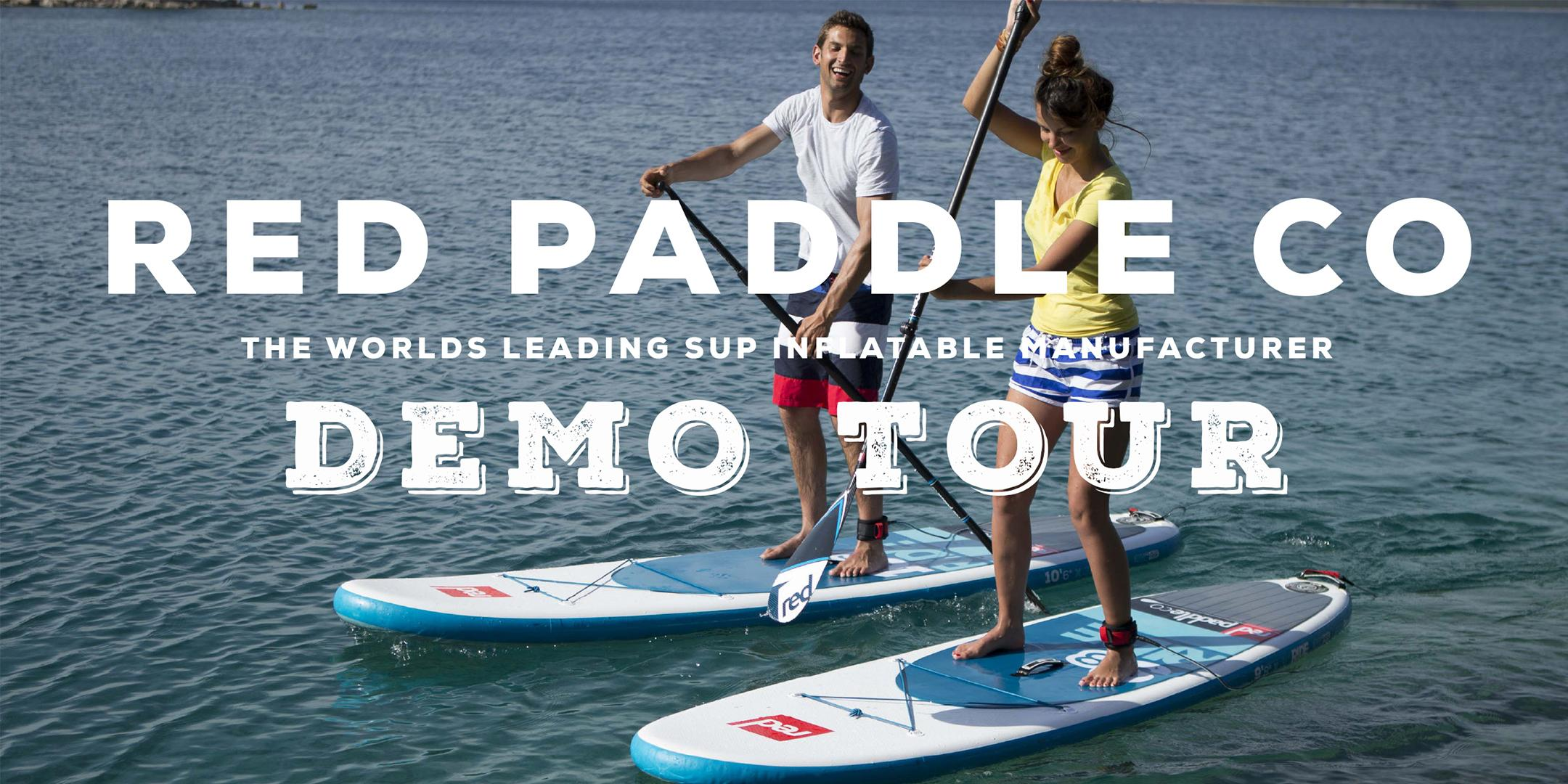 Red Paddle Co Demo Tour - Mountainman Outdoor