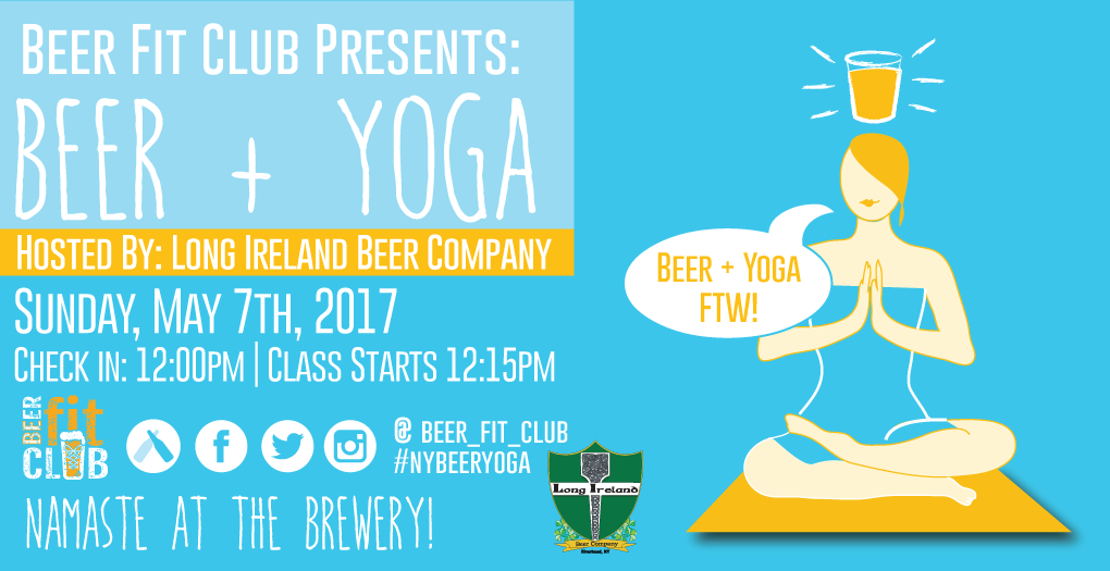 Beer + Yoga, Hosted By Long Ireland Beer Comp