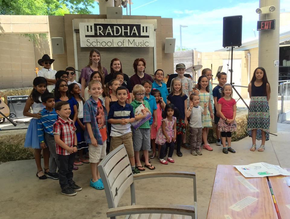Band and Songwriting Camp | Leander, TX | Radha School of Music | June 19, 2017