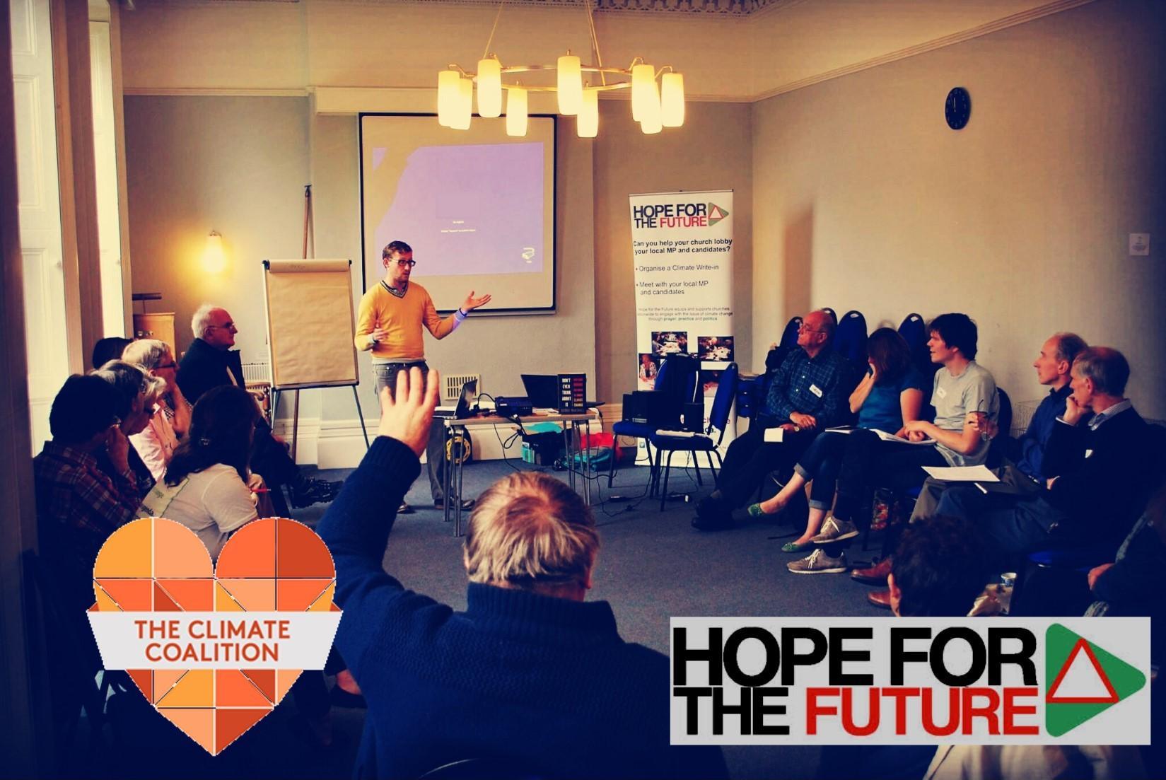 Week of Action, Climate Lobby Training - Manc