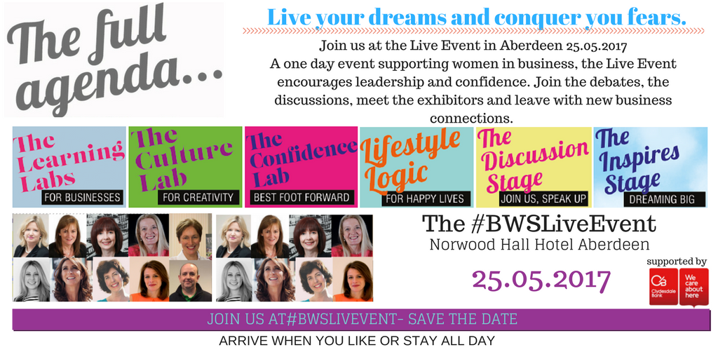 Business Women Scotland - Live Event