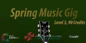 Level 3 90 Credit Spring Music Show