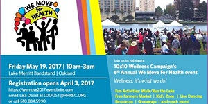 6th Annual We Move For Health Event