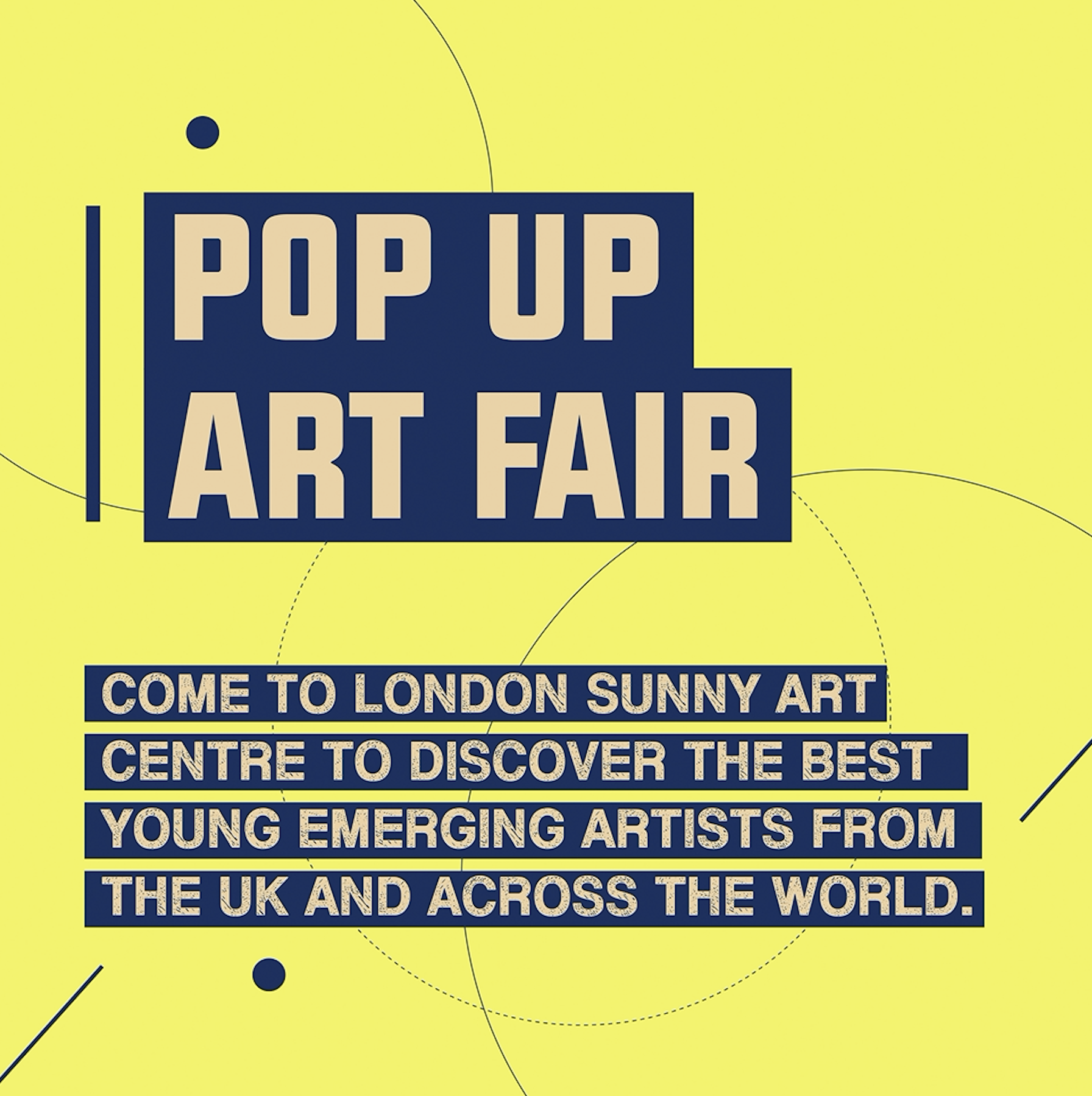 London Pop Up Art Fair - Sunny Art Centre