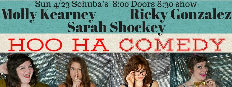 Free Female-Run Comedy in Lakeview 4/23