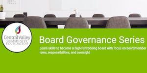 Board Governance Series
