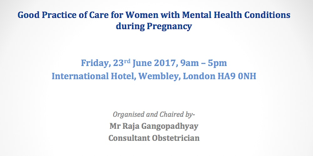 Good Practice of Care for Women with Mental Health Conditions during Pregnancy