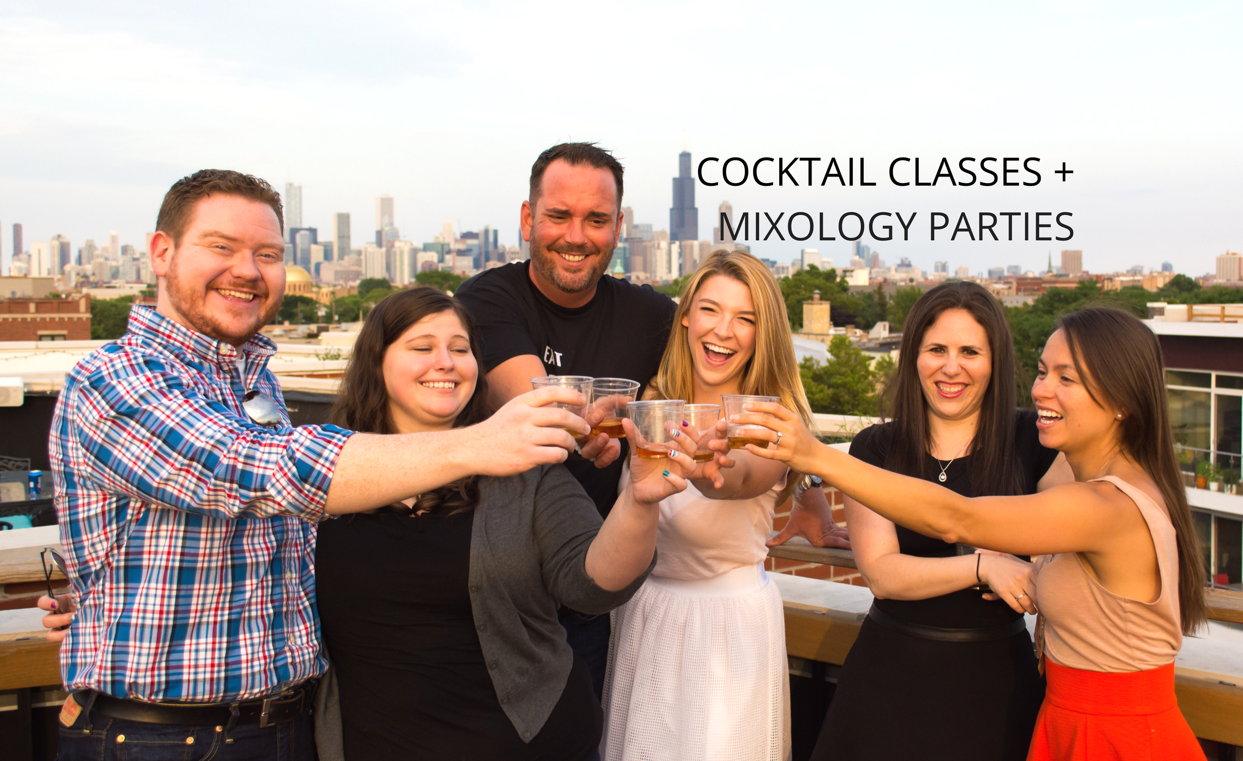 Rooftop Mixology 101 Class: Liquid Confidence. Rooftop Mixology 101 Class: Liquid Confidence