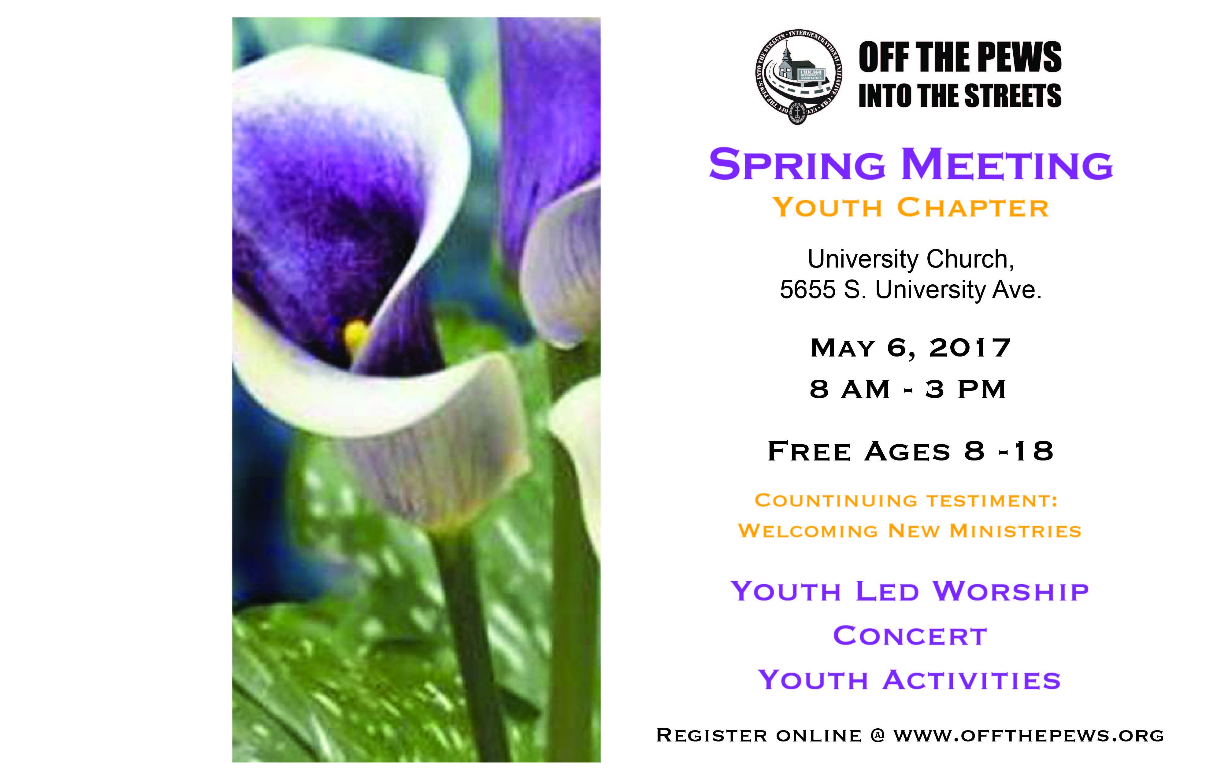 Spring Meeting of the Metropolitan Association - Youth Component