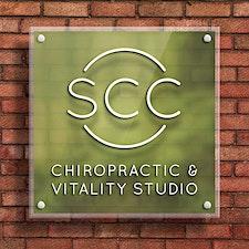 SCC Chiropractic & Vitality Studio logo