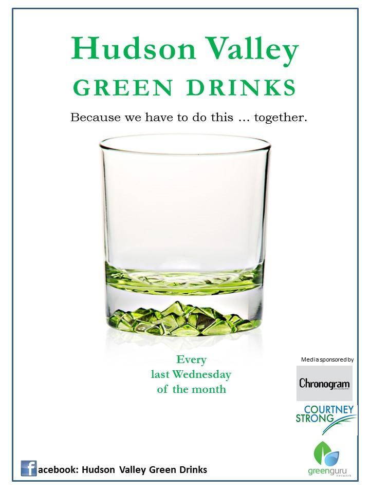 Hudson Valley Green Drinks 26 April 2017