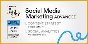 Media Marketing Advanced: Content Strategy e Social...