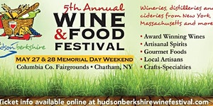 The 5th Annual Hudson Berkshire Wine & Food Festival
