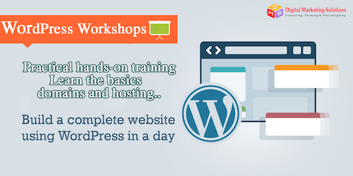 Web Design Workshop -Learn Wordpress and create your own website in a day