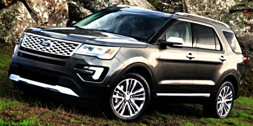 My Ford Explorer Platinum
