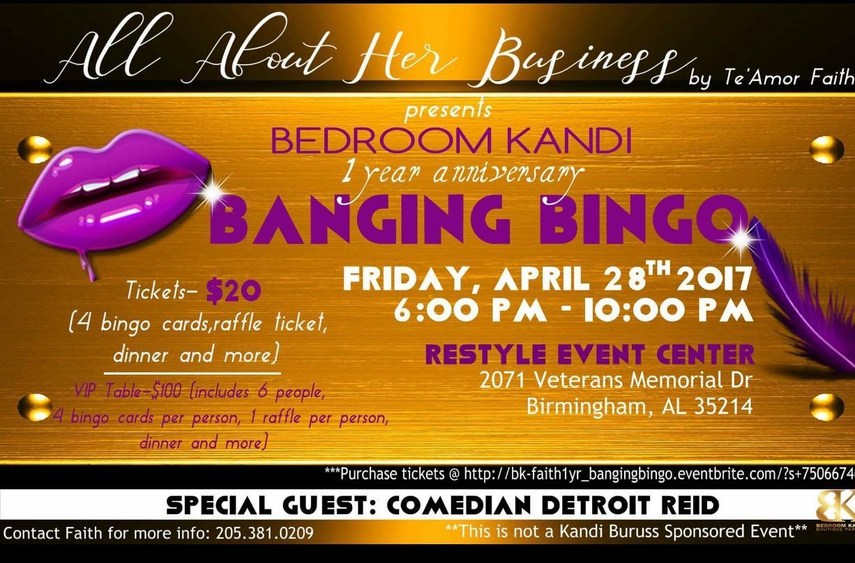 bedroom kandi by te amor faith banging bingo night restyle event bedroom kandi by te amor faith banging bingo night