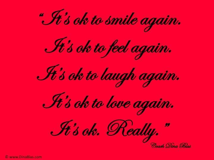 It's Okay to Love Again